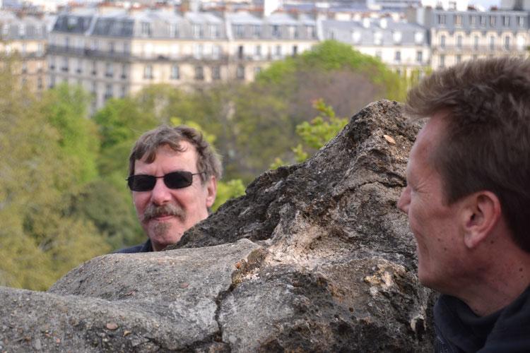 """Tournage du clip """"La guinguette"""" aux Buttes Chaumont"""