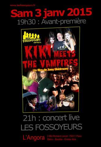 Première du film Kiki meets the vampires